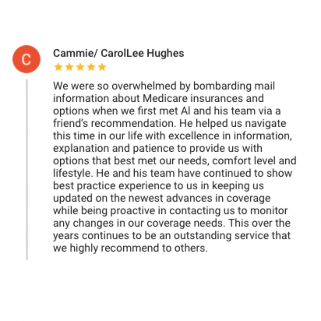 Another 5 star Google Review - Cammie
